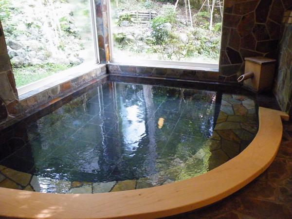 北斎の溶岩風呂